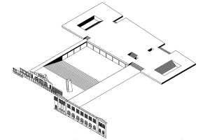 Taller de Ejercitación / Proyectar investigando: Espacios contemporáneos y sensibilidad arquitectónica (Edificio Centro de Extensión Campus Oriente UC)