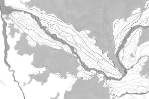 Cartografía del Patrimonio Paisajistico Dimensionamiento perceptual del valle del río Cachapoal, VI Región