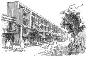 Proyecto de Título / Modelos de densificación en barrios