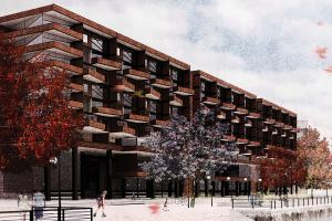 Proyecto de Título / Intervención en un centro de agua como una oportunidad para densificar la ciudad