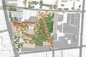 Taller de Ejercitación / Comuna interior – espacio exterior. Proyectos de parque público en territorios complejos / 1er Semestre 2014