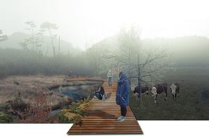 Proyecto de Título / Parque Agrario Ruta Pampa Fiordo